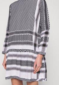 CECILIE copenhagen - DRESS - Denní šaty - black/stone - 5