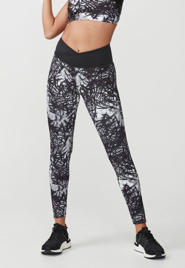 FLATTERING - Leggings - sketch grey