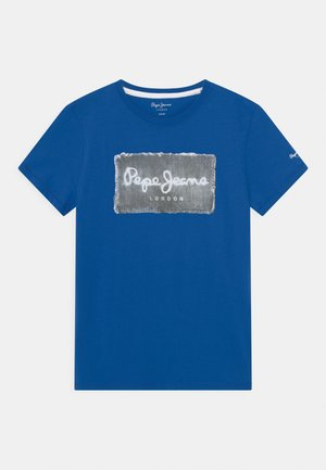 JACOB - Print T-shirt - blue
