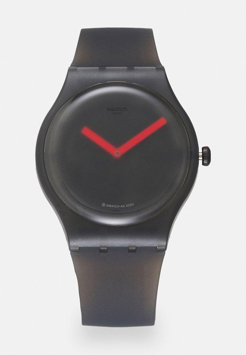Swatch - BLUR UNSIEX - Watch - black