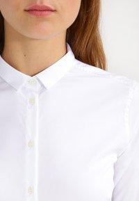 Mos Mosh - TILDA - Button-down blouse - white - 3