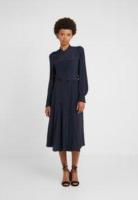 Strenesse - DRESS DEAUVILLE - Shirt dress - navy - 0