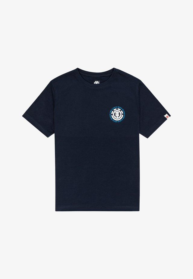 T-shirt print - eclipse navy