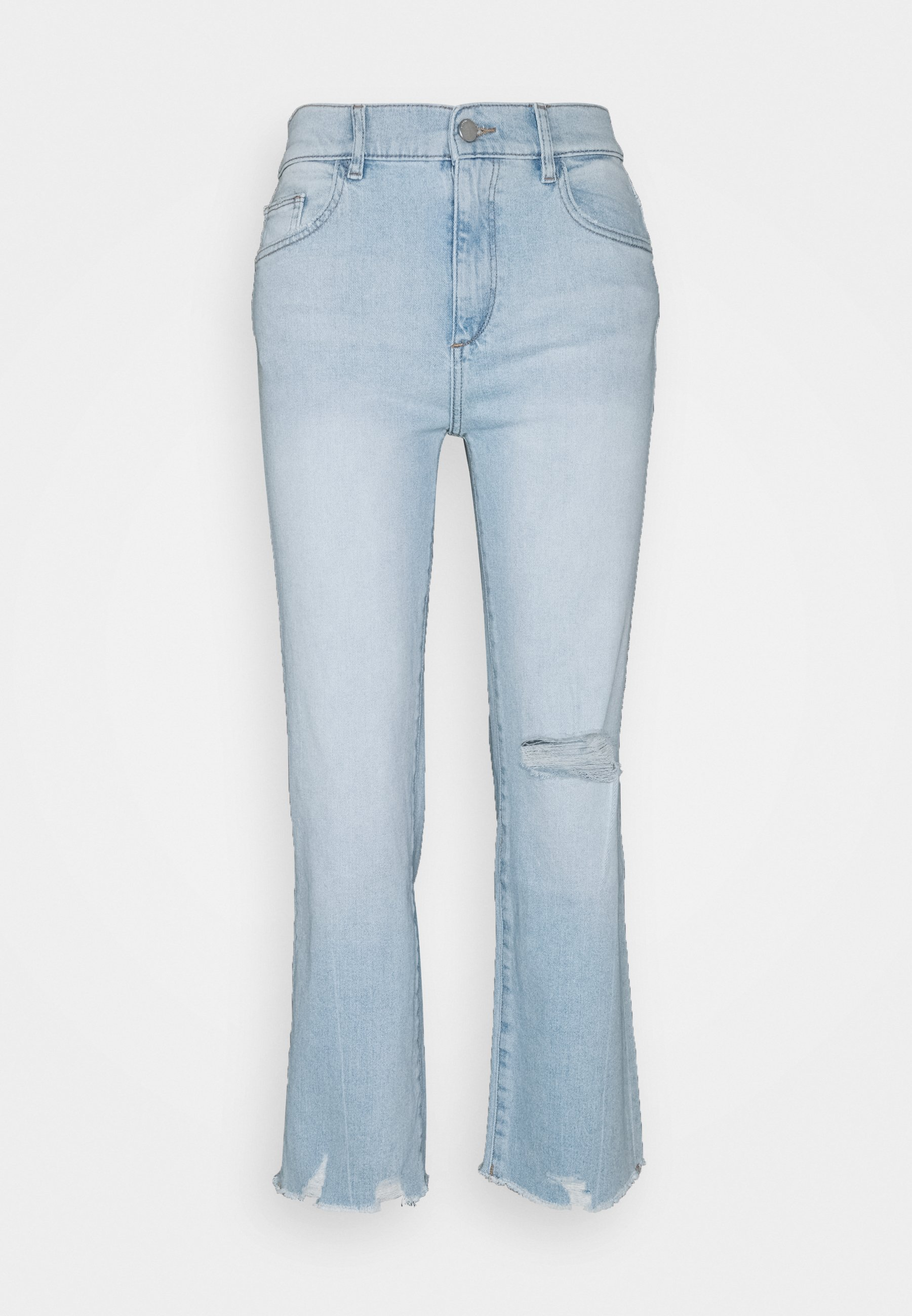Women PATTI HIGH RISE VINTAGE - Straight leg jeans - baby blue