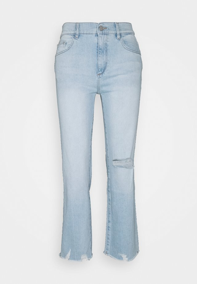 PATTI HIGH RISE VINTAGE - Jeans Straight Leg - baby blue