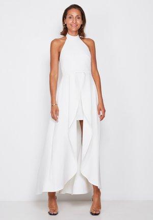 HIGH NECK - Maxi dress - off white