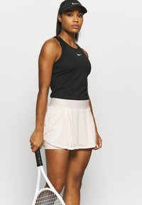 Nike Performance - DRY SKIRT - Sports skirt - guava ice/black - 3