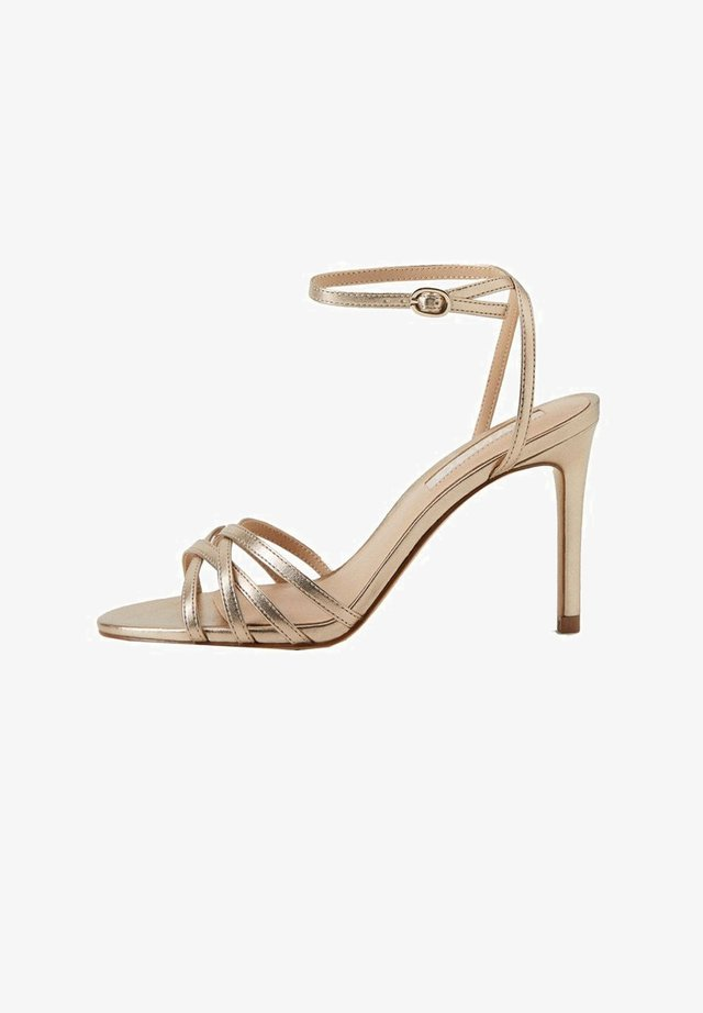 ORCA - High heeled sandals - gold
