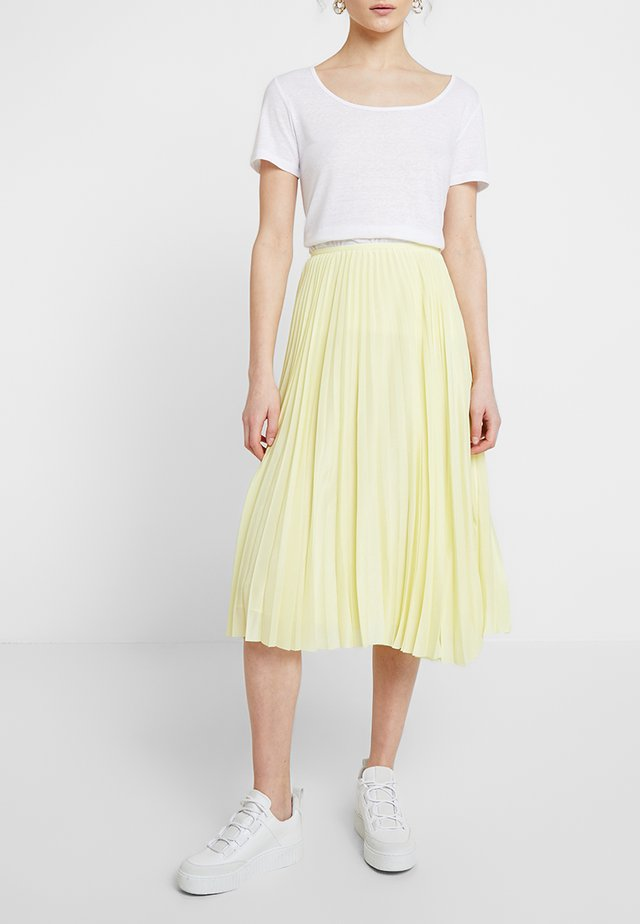 JULIETTE SKIRT - A-line skirt - yellow pear