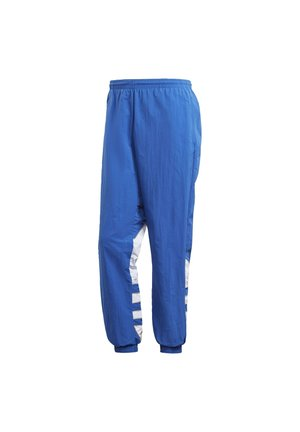 BIG TREFOIL COLORBLOCK WOVEN TRACKSUIT BOTTOMS - Träningsbyxor - blue