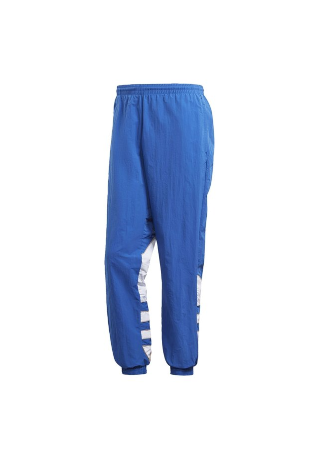 BIG TREFOIL COLORBLOCK WOVEN TRACKSUIT BOTTOMS - Pantalon de survêtement - blue
