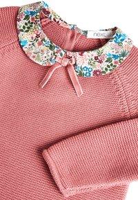 Next - PINK PRINTED COLLAR JUMPER DRESS (3MTHS-7YRS) - Jumper - pink - 2