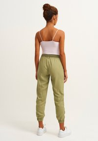 OXXO - Trousers - antik lime peel - 2