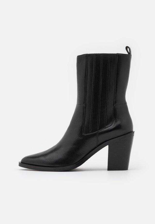 SHELDON - Kotníkové boty - black