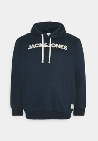 Jack & Jones - JOR30HISTORY HOOD - Hoodie - navy blazer - 0