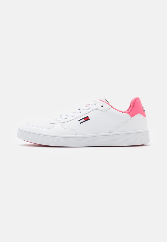 CUPSOLE  - Sneakers - white/glamour pink
