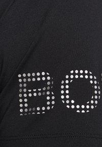 Björn Borg - MEDAL TEE - Print T-shirt - black/silver - 5