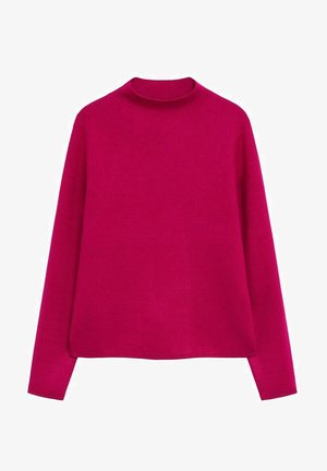 CHIMNEY - Strickpullover - růžovočervená