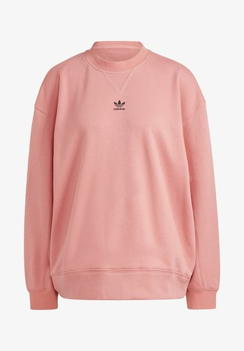 SWEATSHIRT TREFOIL ESSENTIALS ORIGINALS REGULAR PULLOVER - Sweatshirt - pink