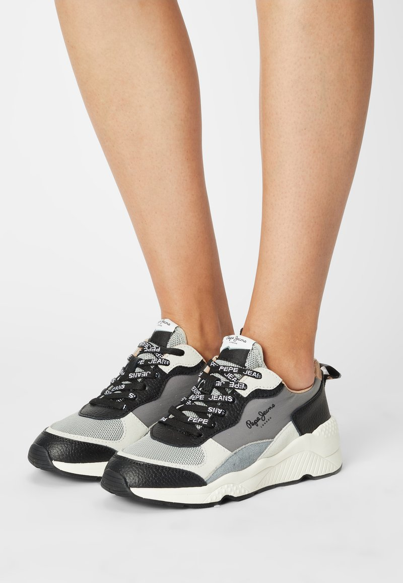 Pepe Jeans - HARLOW FULL - Trainers - cool grey