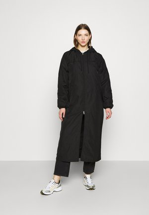 MAY LONG JACKET - Zimní kabát - black