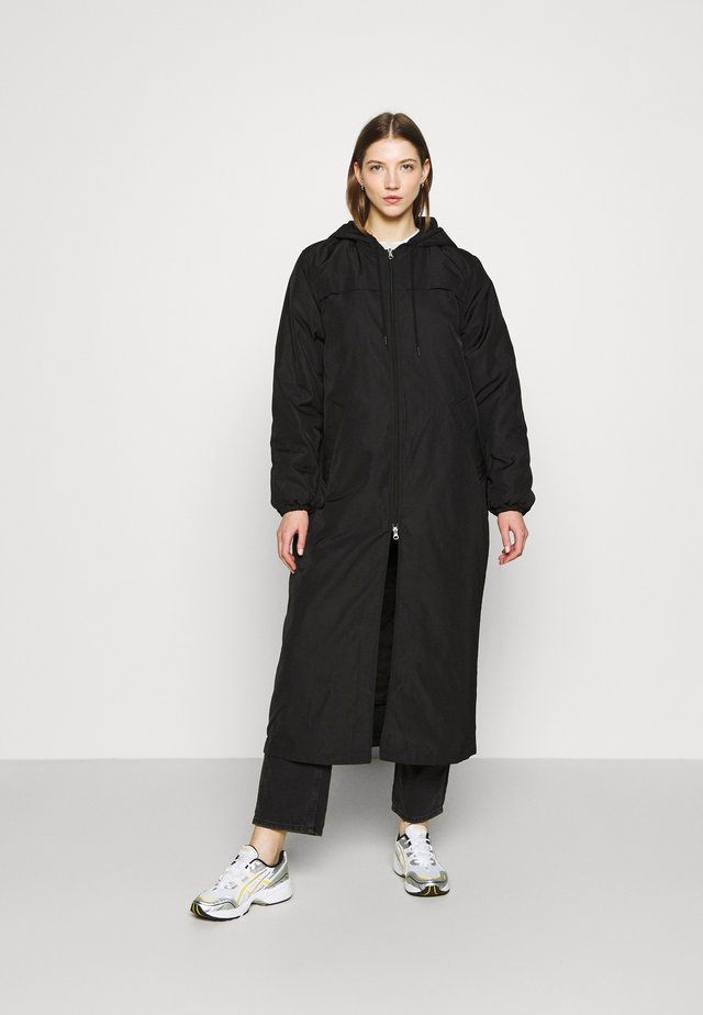 MAY LONG JACKET - Winter coat - black