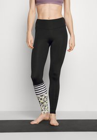 Hey Honey - SURF STYLE DREAMLAND - Leggings - neon yellow/black - 0