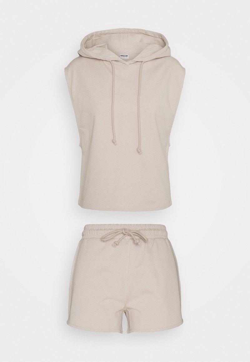 Noisy May - NMALLY SET  - Sweatshirt - chateau gray