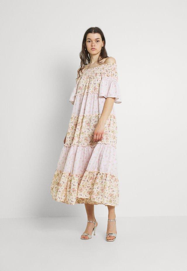 BARDOT MIDI DRESS - Długa sukienka - pink