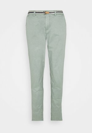 SLIM - Stoffhose - light khaki