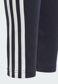 adidas Performance - ADIDAS ESSENTIALS 3-STRIPES LEGGINGS - Tracksuit bottoms - blue - 4