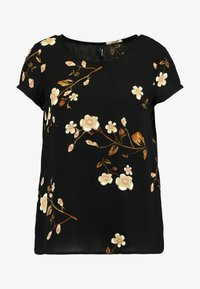 Vero Moda - VMCALLIE BOCA - Blouse - black - 4