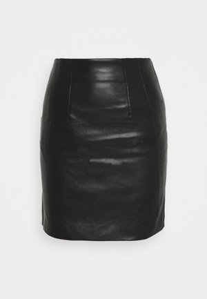 MINI SKIRT - Falda de tubo - black