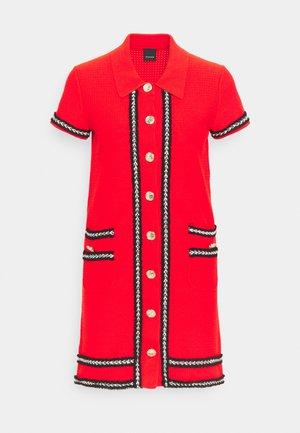 FOOTBALL ABITO STRETCH - Shirt dress - red