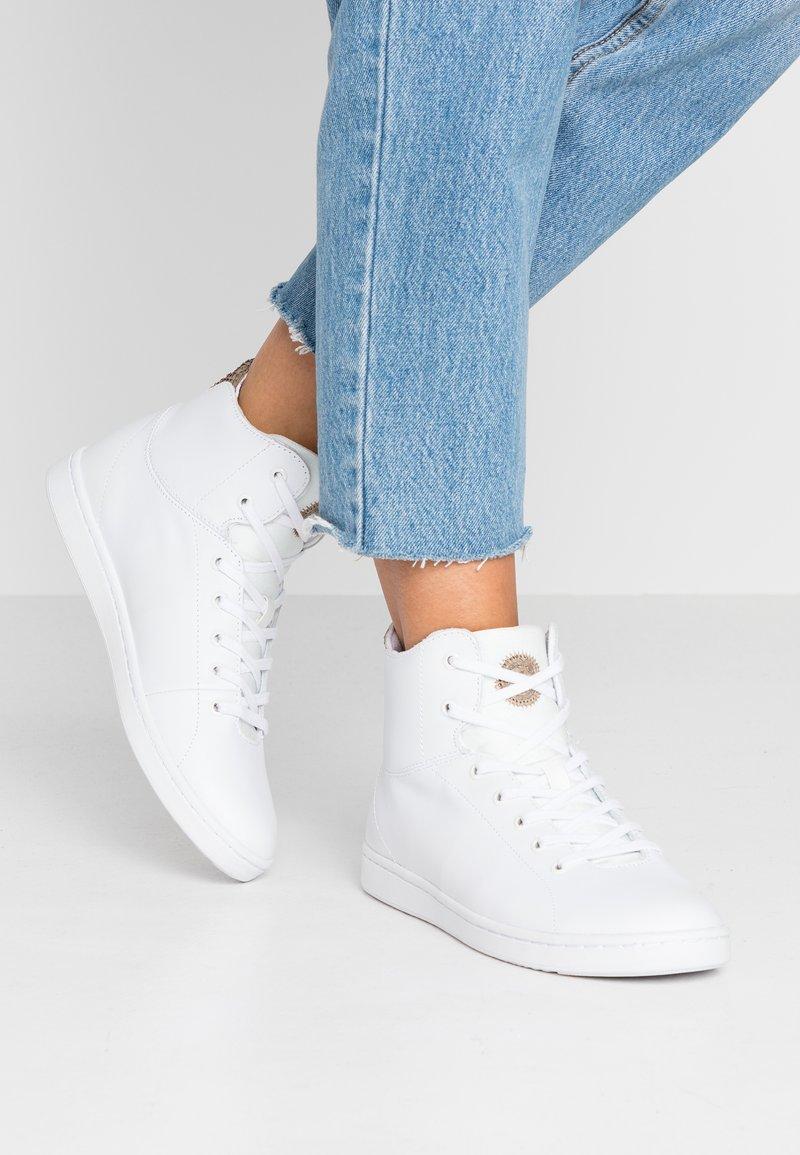 Woden - JANE  - Sneaker high - bright white