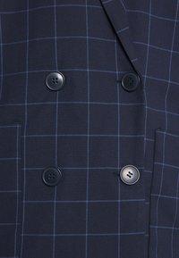 Monki - Blazer - blue dark/grid - 5