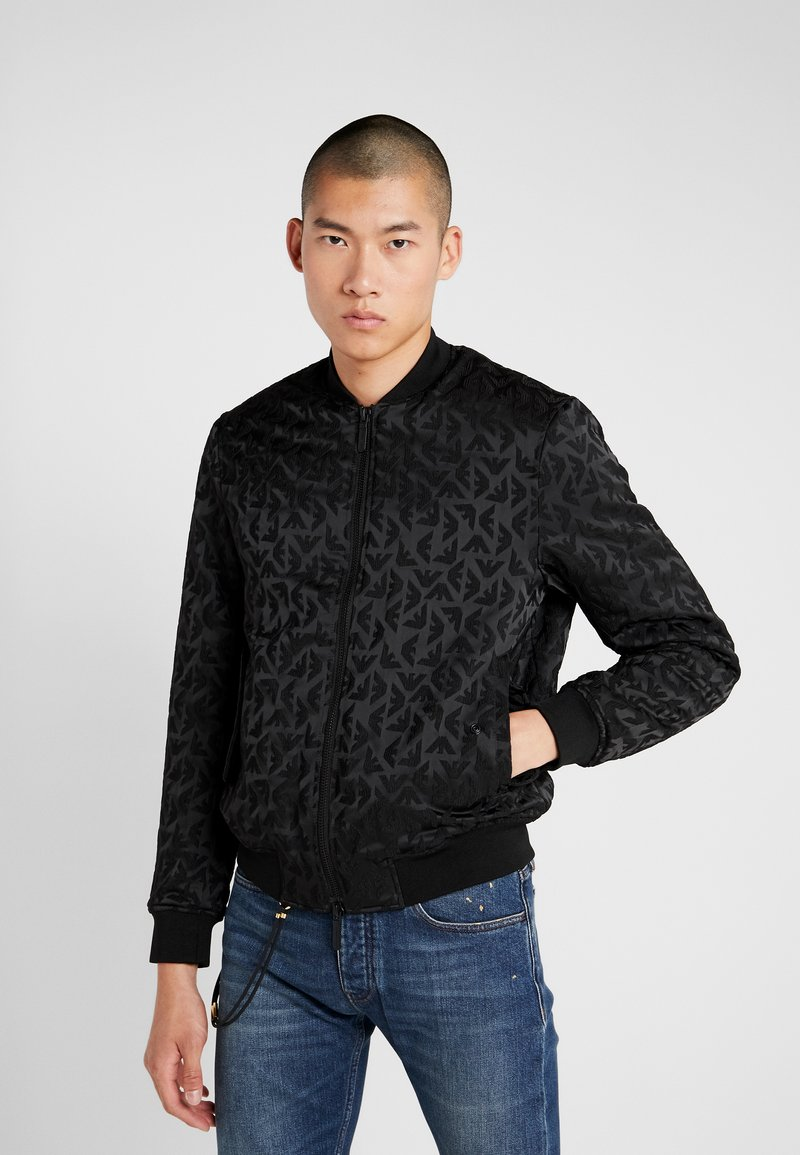 Emporio Armani - BLOUSON - Light jacket - nero
