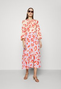 Closet - KIMONO MIDI DRESS - Maxi dress - peach - 1
