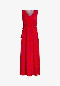 Oui - Maxi dress - red violett - 3