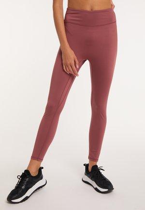 Leggings - Trousers - kastanienbraun