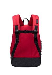 Herschel - School bag - red/raven crosshatch/black crosshatch - 1