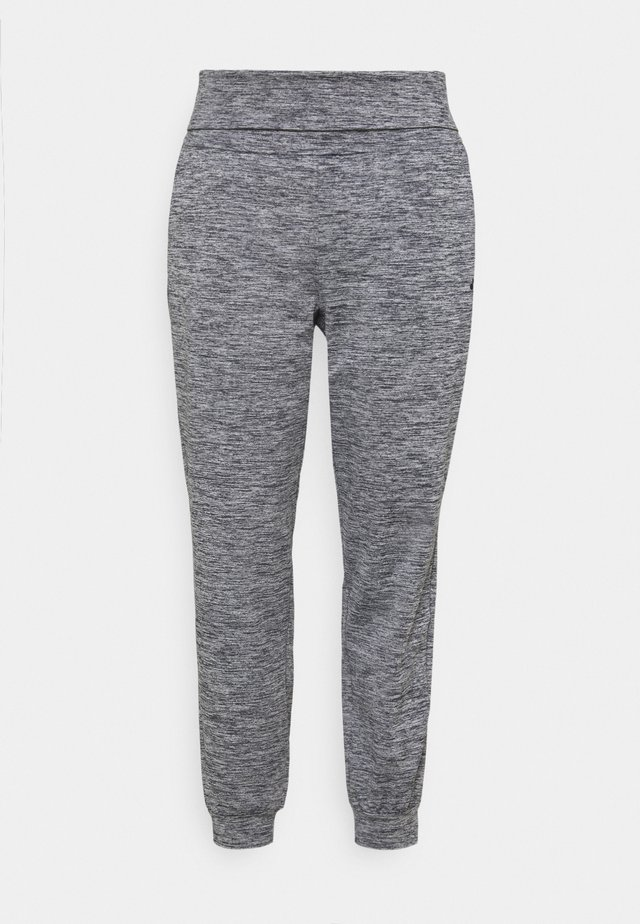 ONPMETEA FOLD CURVY - Verryttelyhousut - medium grey melange