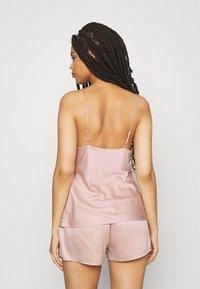 Anna Field - SIMPLE  SHORT SET - Pyjama set - pink - 2