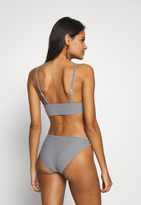 aerie - BASIC PRINTED FEEDER STRIPE - Bikini bottoms - true black - 2