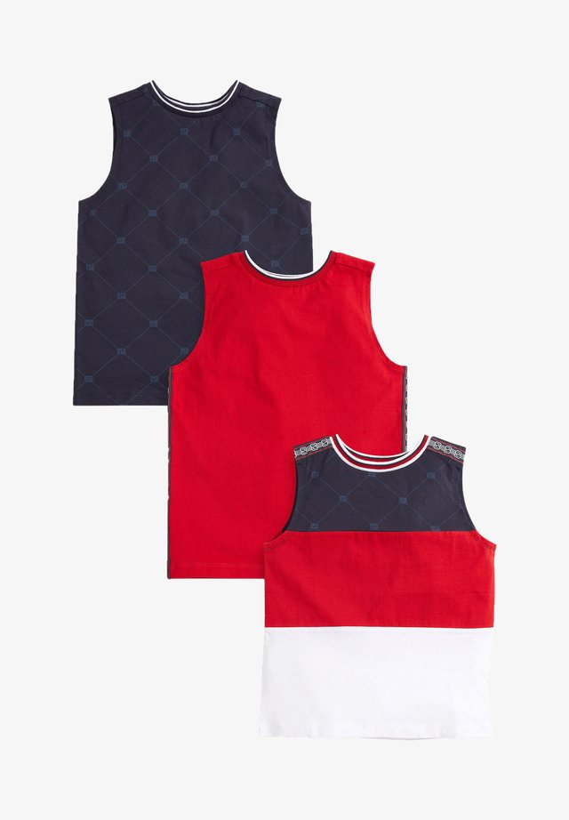 3 PACK - Top - red