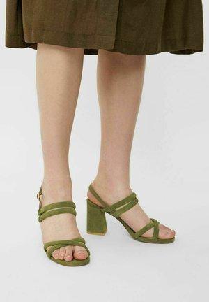 BIACHARLENE - High heeled sandals - palegreen
