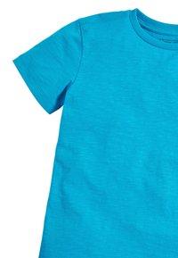 Next - 4 PACK FLURO T-SHIRTS - Basic T-shirt - blue - 6