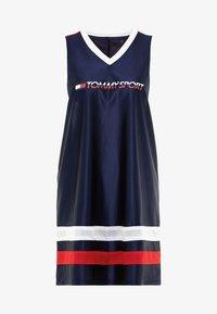 ARCHIVE DRESS LOGO - Sports dress - blue