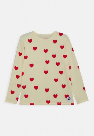 HEARTS GRANDPA - Long sleeved top - off white