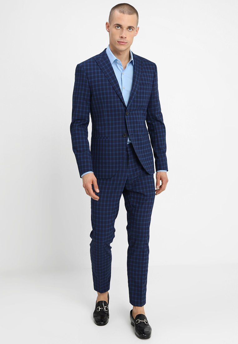 Isaac Dewhirst - FASHION  SLIM FIT - Oblek - navy